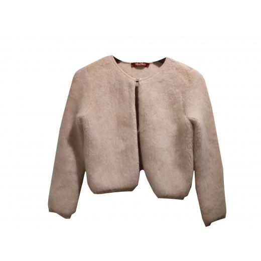 Piękny Sweterek z Angory • Max Mara Studio • r S