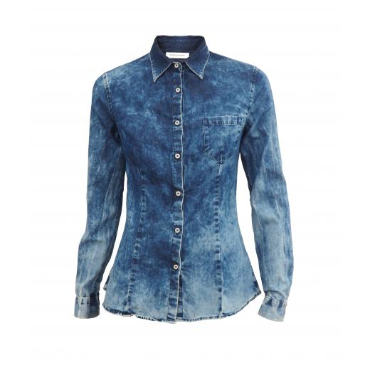 Pierre Balmain jeansowa koszula S / 36
