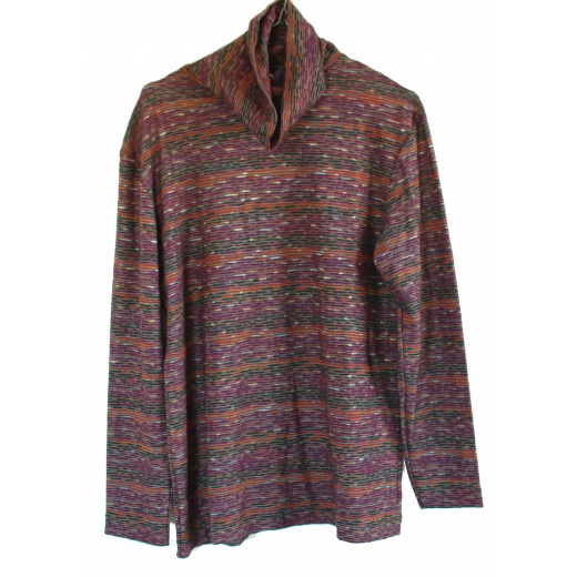 Missoni Multi-colored Turtleneck