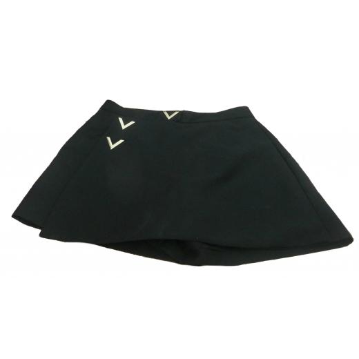 VALENTINO Czarne spodenki/spódniczka M