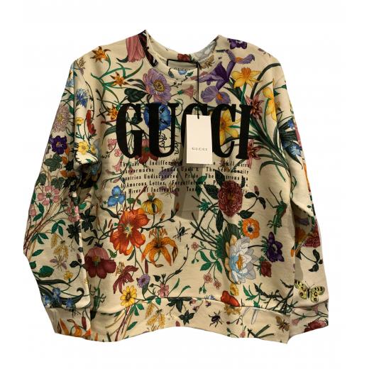Oversize sweatshirt with Gucci print