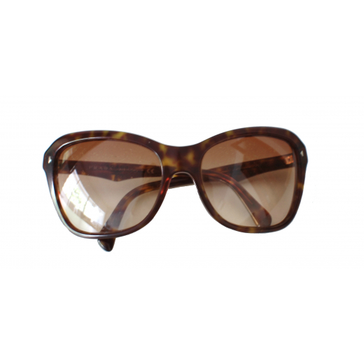 Prada Brown Oversized Sunglasses
