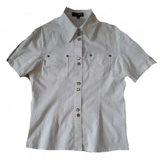 Biała koszula Versace Sport