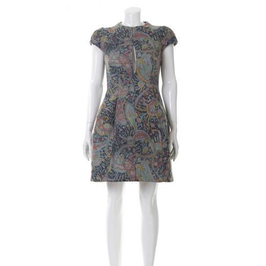 Sukienka wielokolorowa