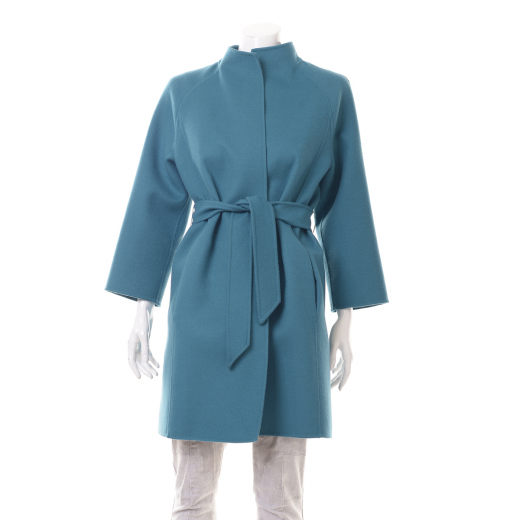 Płaszcz turkusowy