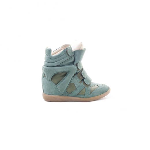 Sneakersy Bekett zielone