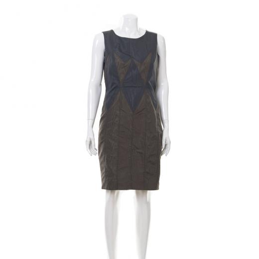 Metaliczna sukienka
