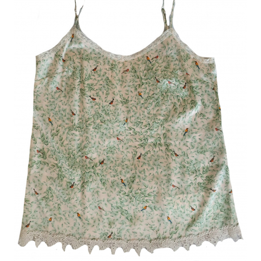 Marc Cain jedwabny Top nowy, 34/36