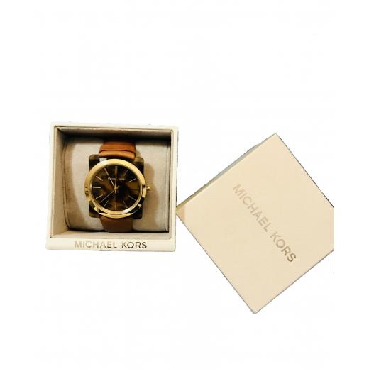 Zegarek Michael Kors klasyczny na skórzanym pasku