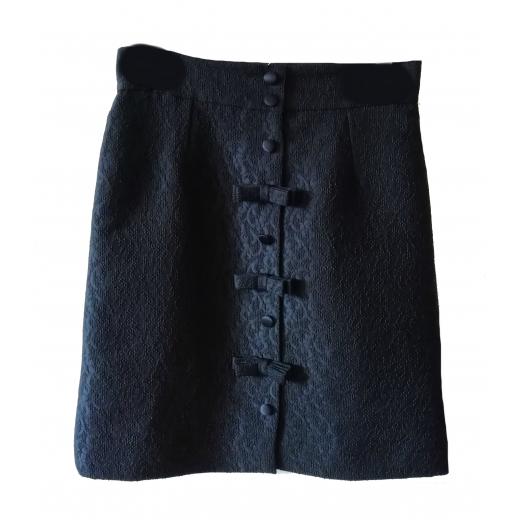 spódnica Dolce&Gabbana z guzikami w tłoczone wzory