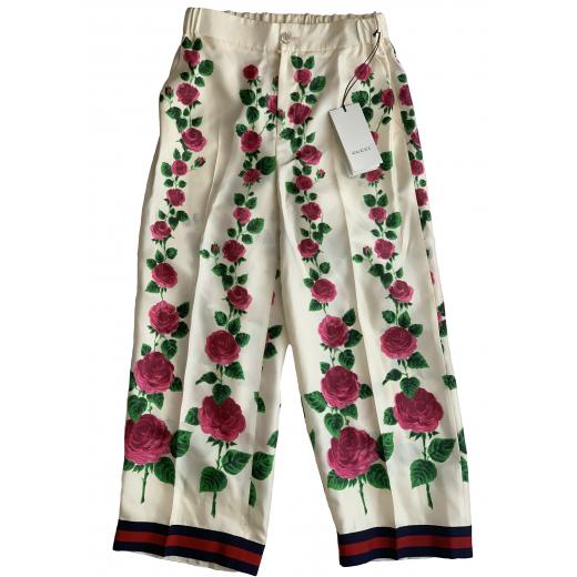 GUCCI – jedwabne spodnie