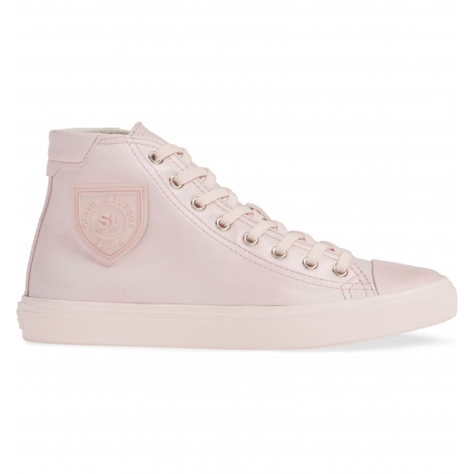 Saint Laurent Pink Bedford Leather Sneakers