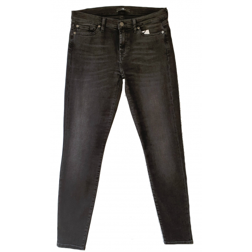7 for all mankind spodnie jeans czarne nowe