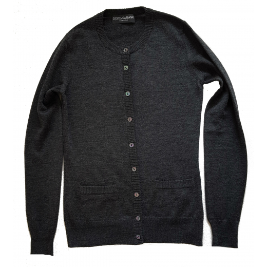 Dolce & Gabbana sweterek rozpinany, nowy 34