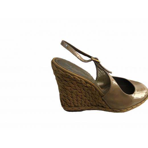 Saint Laurent buty na koturnie
