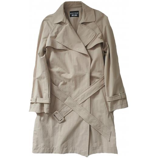 Boutique Moschino płaszcz, gabardyna, nowy 40