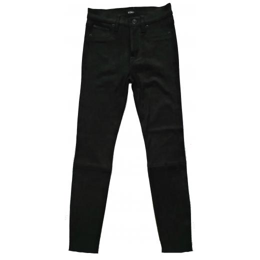 Hudson Jeans 100% zamsz naturalny, nowe 34-36