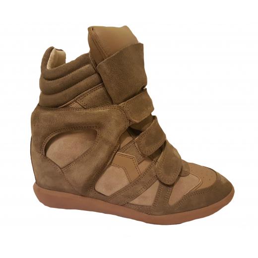Sneakersy Isabel Marant bekett