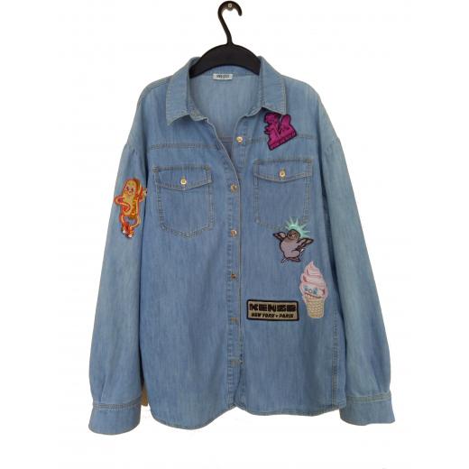 Jeansowa koszula marki KENZO