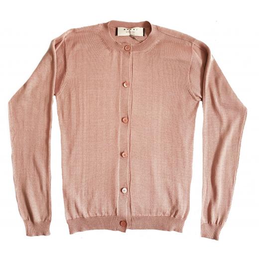 Marni sweterek brudny Róż jedwab 36