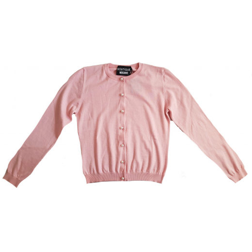 Boutique Moschino różowy kardigan, nowy