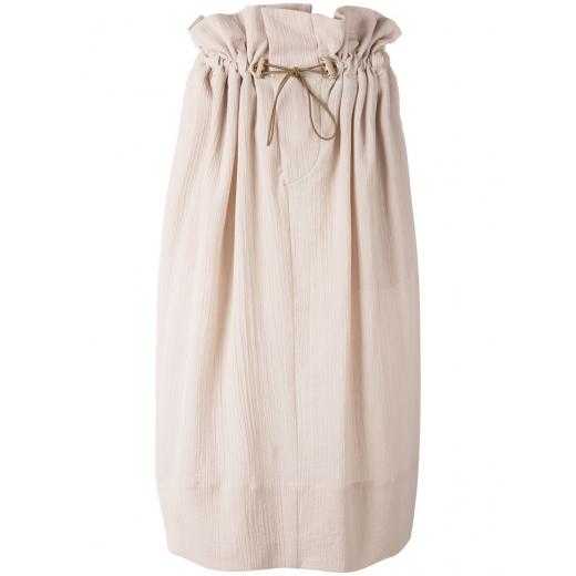 STELLA MCCARTNEY spódnica oversize, nude pink