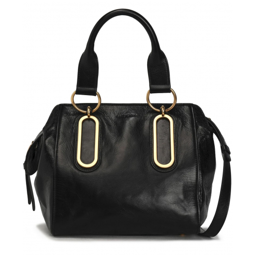 SEE BY CHLOE Paige washed-leather shoulder bag
