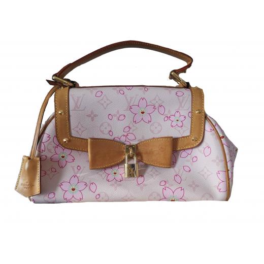 Torebka LOUIS VUITTON Monogram Cherry Blossom Case Nostalgic PM handbag Takashi Murakami Collaboration