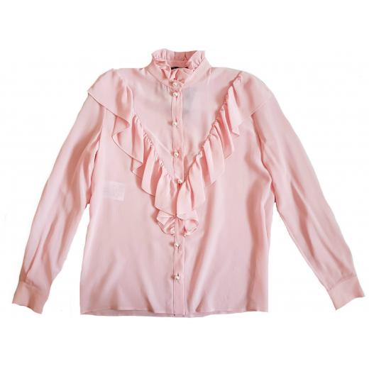 Boutique Moschino różowa bluzka jedwab nowa