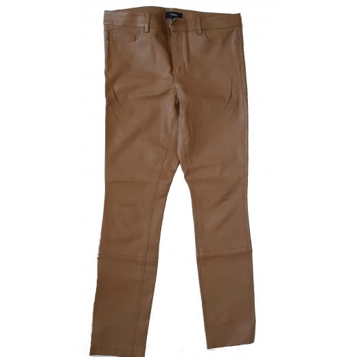 Skórzane spodnie Theory