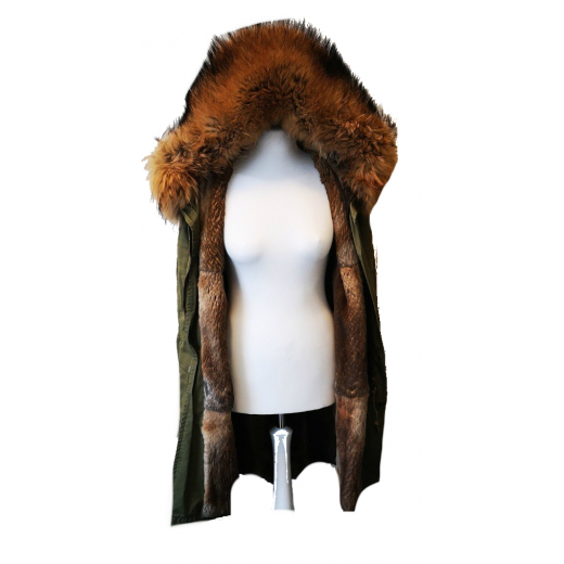 Parka midi Mr & Mrs Furs