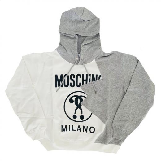 MOSCHINO – bawełniana bluza z kapturem