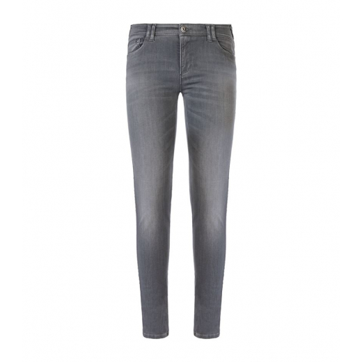 Armani Jeans Gray Orchid Crystal Skinny Jeans 32