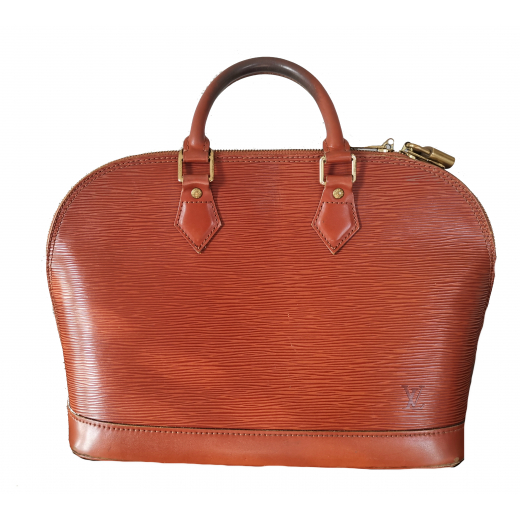 Kuferek, torebka LOUIS VUITTON Kenyan Fawn Epi Leather Vintage Alma PM