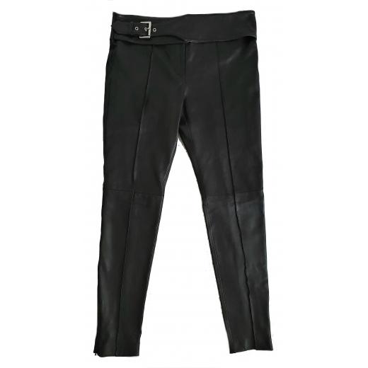 Versus Versace spodnie skóra naturalna 42 IT 36