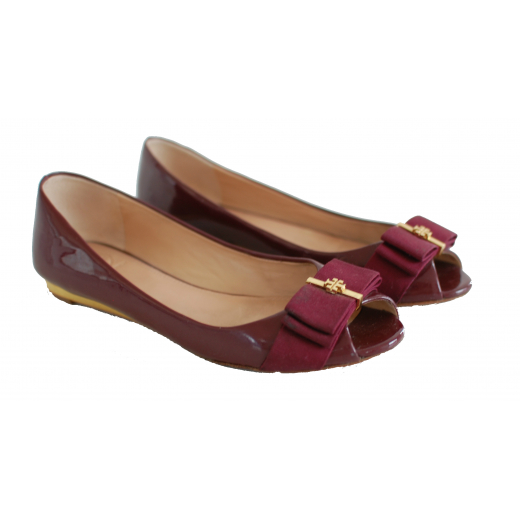 Tory Burch Peep-toe Flats