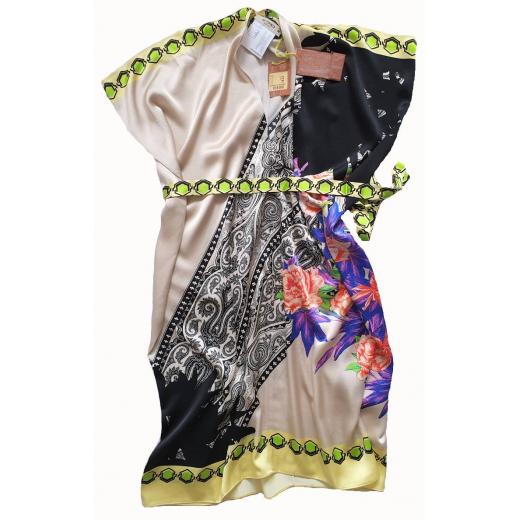 Etro silk dress, XS-S
