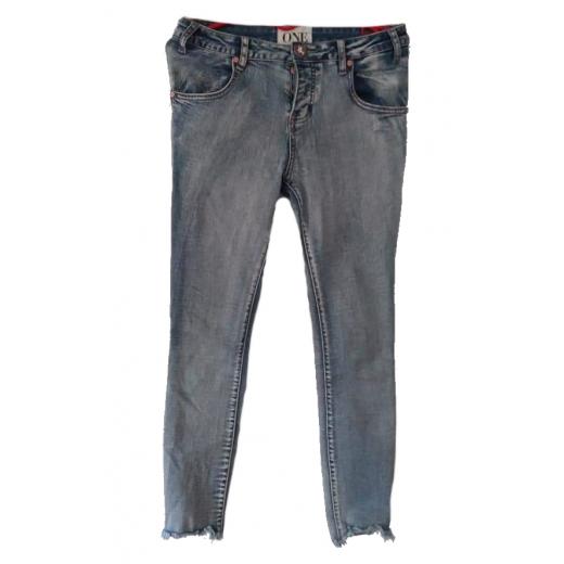 Dżinsy strzepione One Teaspoon Jeansy spodnie 27 36 S
