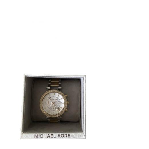 Zegarek Michael Kors MK złoty srebrny