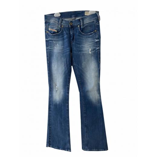 Spodnie dżinsowe z rozszerzanymi nogawkami Diesel