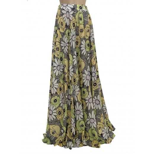 PRADA - maxi spódnica z koła