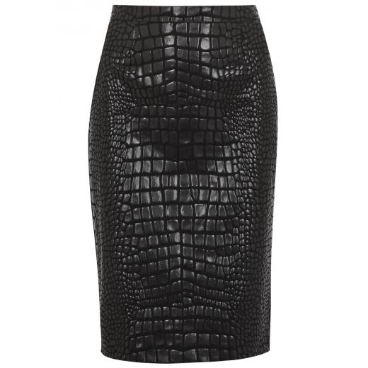 Moschino Cheap & Chic spódnica croco