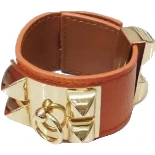 Skórzana bransoletka Hermes