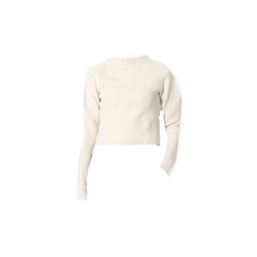 Sweter ze stójką golf półgolf z wełny merynosowej 100% wełna House of Dagmar