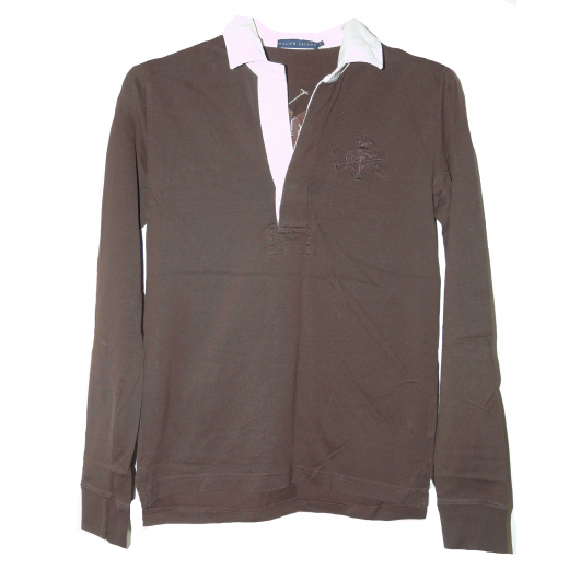 Bluzka RALPH LAUREN, z ozdobnym emblematem, rozmiar S