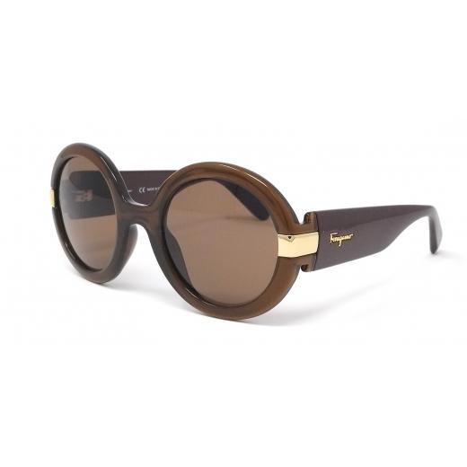 Salvatore Ferragamo okulary okrągłe