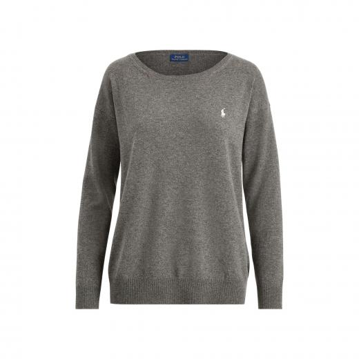 Polo Ralph Lauren szary sweter Merino Wool, nowy M