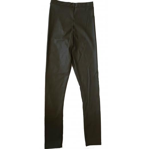Skórzane spodnie Klaudyna Cerkiewicz