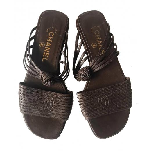 Sandalki Chanel