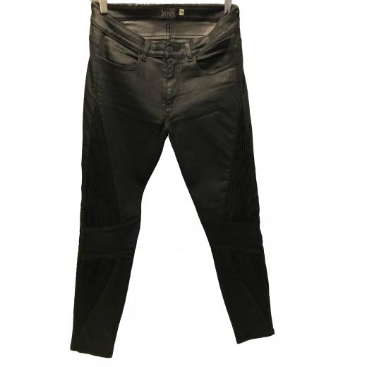 Spodnie czarne Łukasz Jemioł